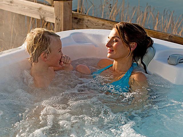 utendørs massasjebad med lavt strømforbruk fra spatec