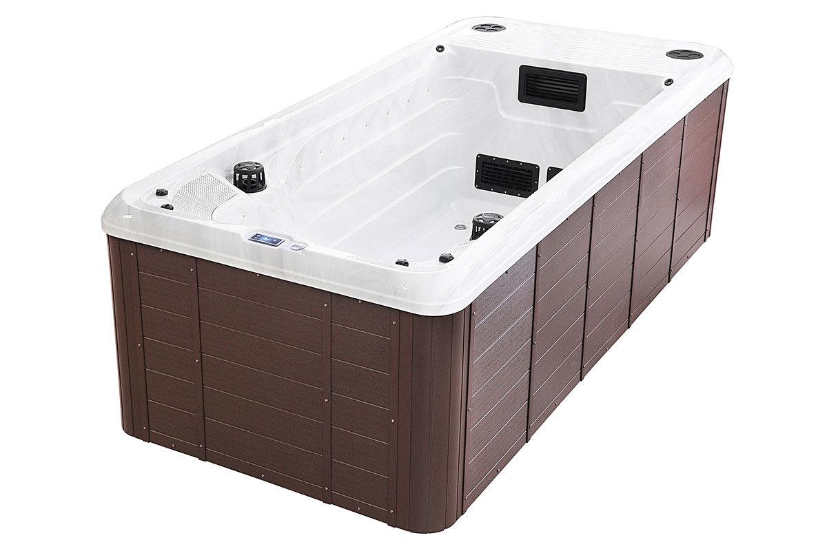 Spatec Eira swimspa og motstrømsbasseng - spa basseng for bruk inne og utendørs