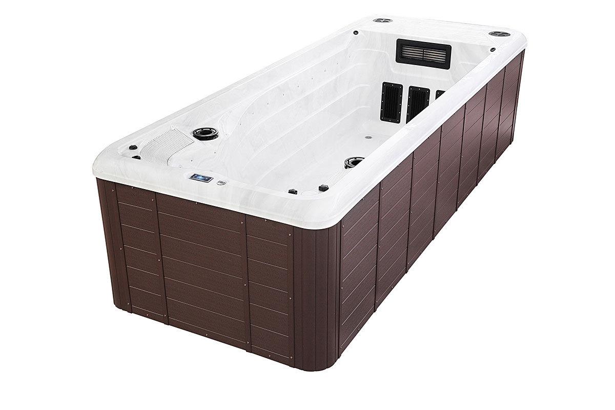 Spatec Orkla swimspa og motstrømsbasseng - spa basseng for bruk inne og utendørs