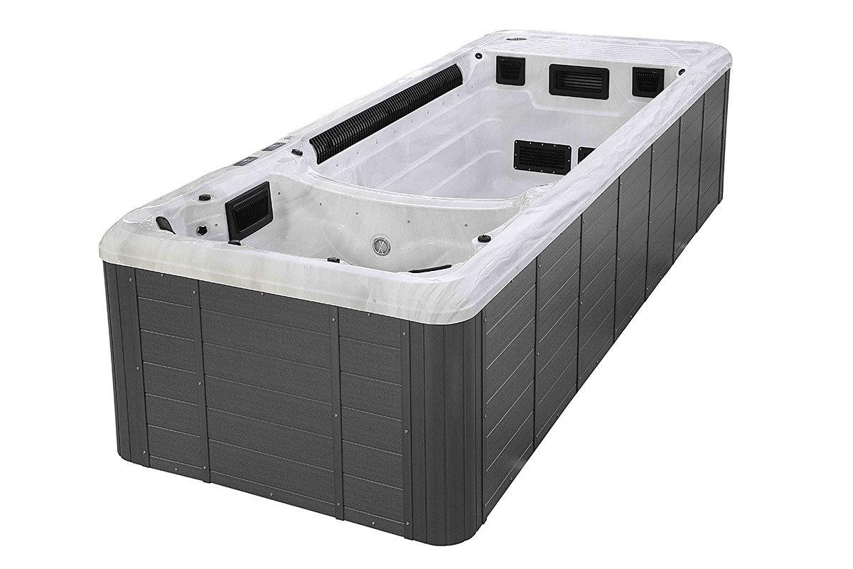 Spatec Driva swimspa og motstrømsbasseng - spa basseng for bruk inne og utendørs
