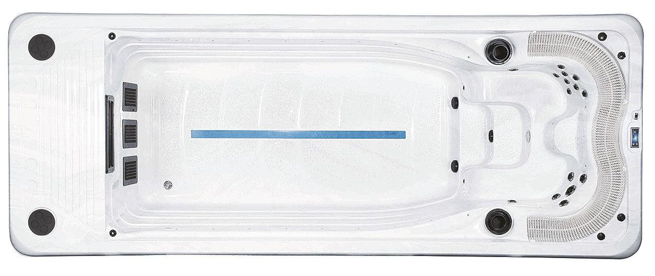 River serien swimspa og motstrømsbasseng fra Spatec Norge - spa basseng for bruk inne og utendørs