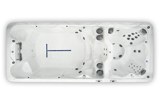 vita wm8 swimspa og motstrømsbasseng fra spatec