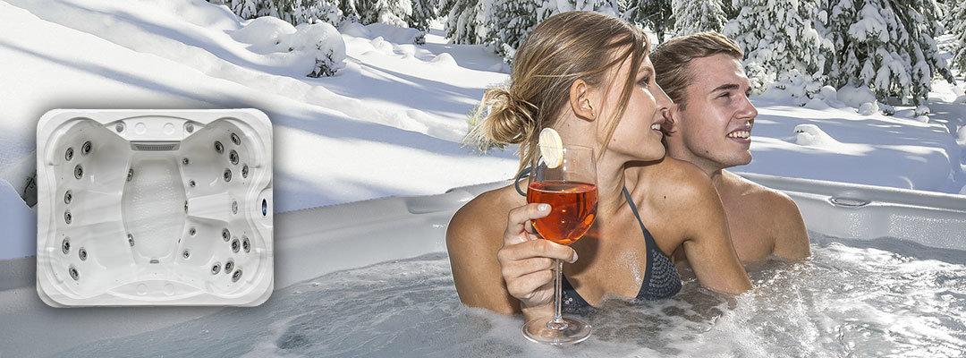 Stort utvalg utendørs jacuzzi - kampanjepriser på boblebad hos Spatec Norge