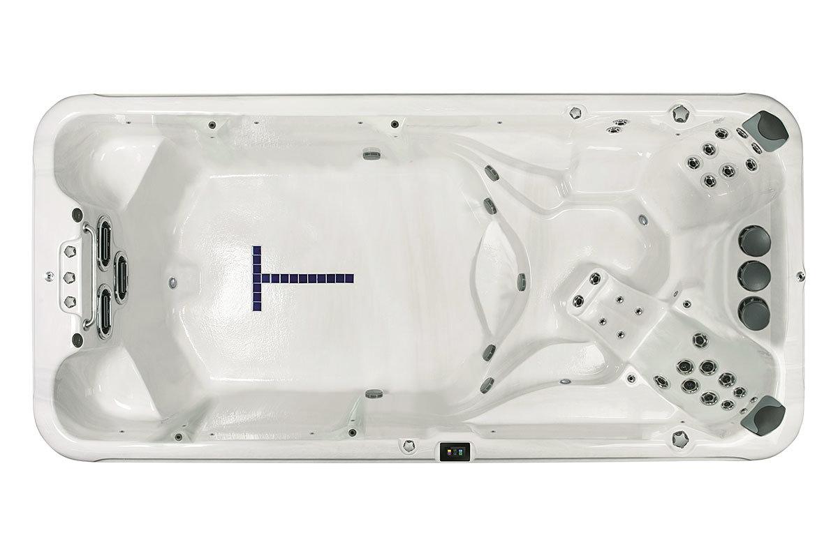 Vita VM6 swimspa og motstrømsbasseng - spa basseng for bruk inne og utendørs