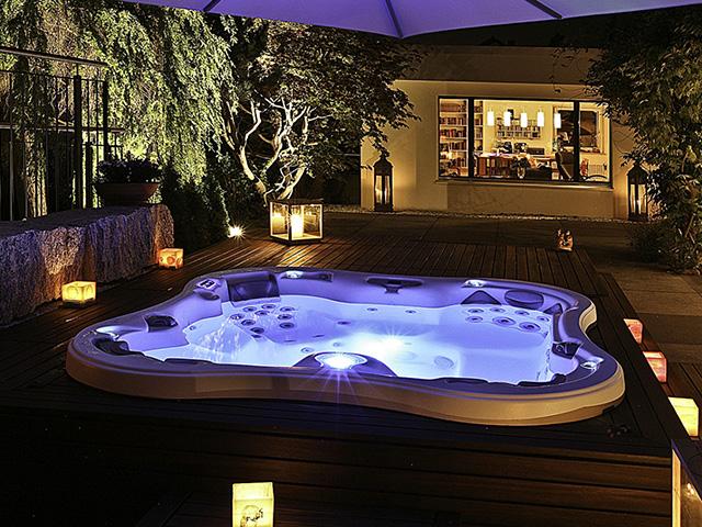 Eksempler på strømforbruk med boblebad, jacuzzi og massasjebad